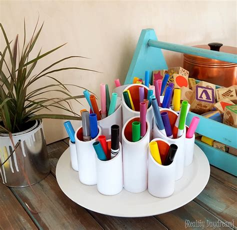diy craft caddy 22 makeup brush holders to keep your tools clean and ready