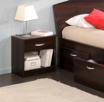 Bedside Table Mats by Walnut Bedside Table