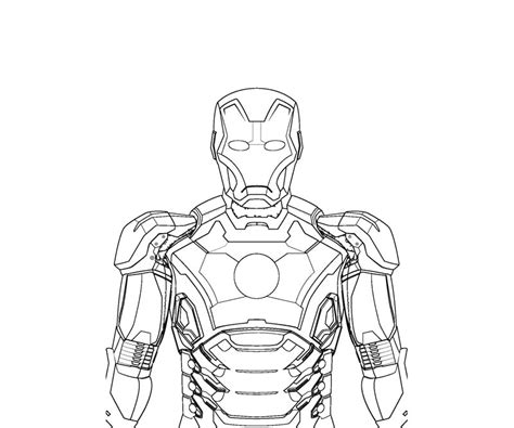 iron man mark 6 coloring pages iron man coloring pages coloring page for kids 35