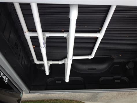 truck bed fishing rod holder diy custom truck bed rod holder the hull truth