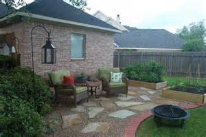 Patio Ideas With Pea Gravel Pea Gravel Patio Pictures And Ideas