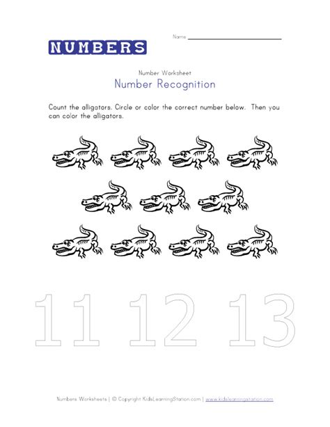 free printable math worksheets for numbers 11 20 preschool worksheets for numbers 11 20 maths number name