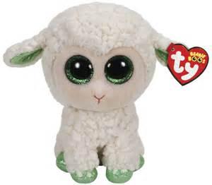 ty beanie boo lala lamb toy mighty ape australia