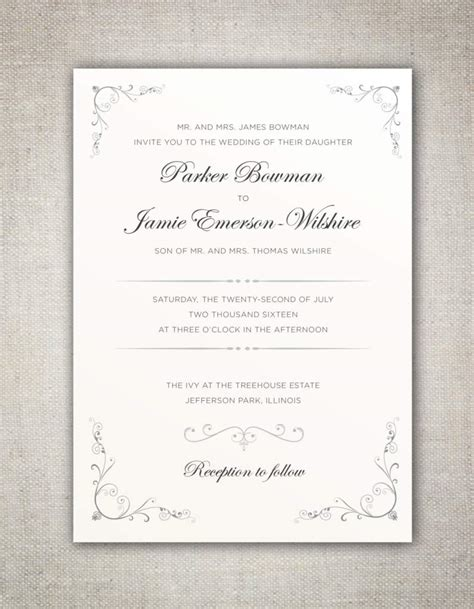traditional wedding invitation templates non traditional wedding invitation wording uk matik for