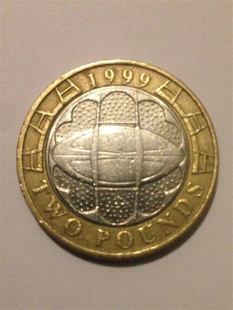 rare  pound coin rugby world cup   aberdeen gumtree
