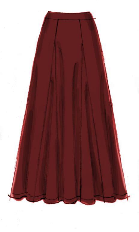 Godet Skirt mccall s 6608 six godet bias skirts pattern
