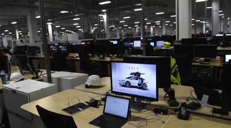 tesla office rgj captures footage inside tesla gigafactory 1