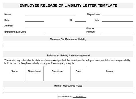 Release Letter Sle From Employee Employee Release Letter Template 28 Images 8 Employee