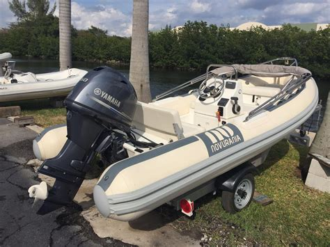 used inflatable boats for sale in florida 2014 used novurania 430 dl rigid sports inflatable boat