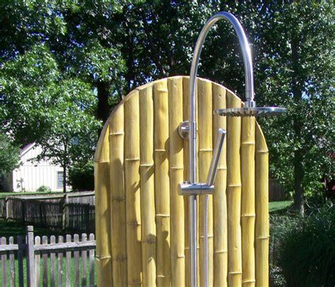 outdoor pool shower kit theme series outdoor shower panel kits sunrinse