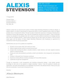 Exles Of Creative Cover Letters by Creative Cover Letter Sles Template Resume Builder