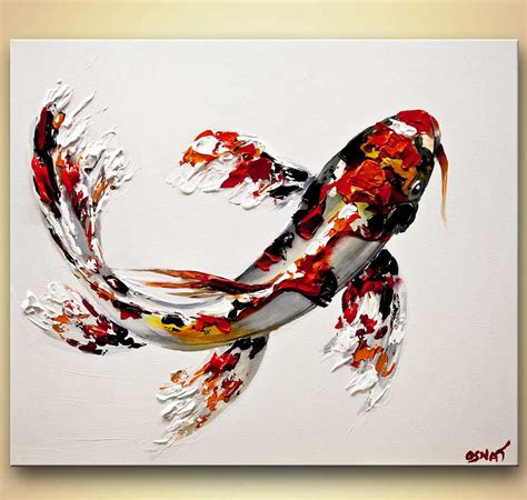 koi abstract tattoo abstract art by osnat tzadok painting like a pro