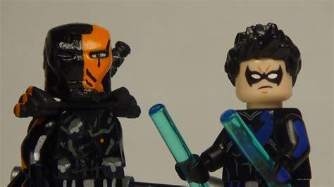 Lego Minifigure Heroes Deathstroke Stroke Weapon image gallery lego deathstroke new 52