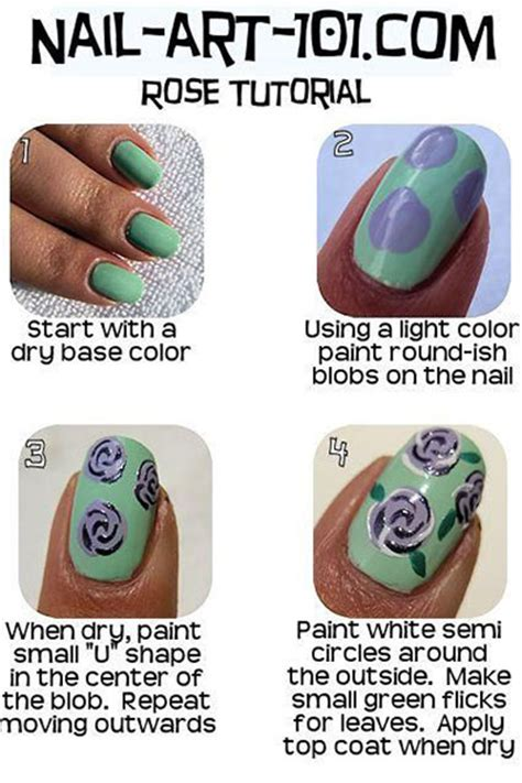nail art drawing tutorial nail art tutorials step by step for beginners learners