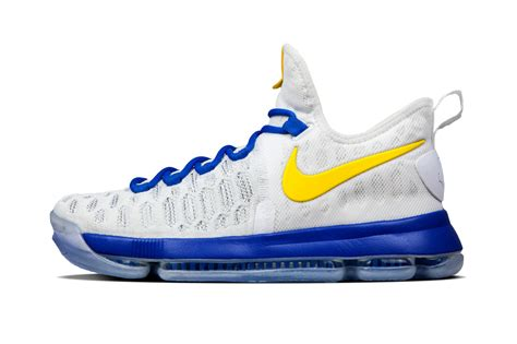 warriors colors nike kd 9 golden state warriors colors hypebeast