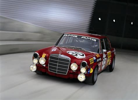 classic red mercedes 1971 mercedes amg w109 300sel 6 3 6 8 quot rote sau