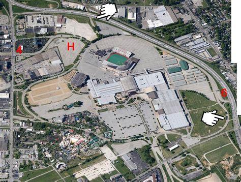 kentucky fairgrounds map aerial view of the kentucky fair exposition center