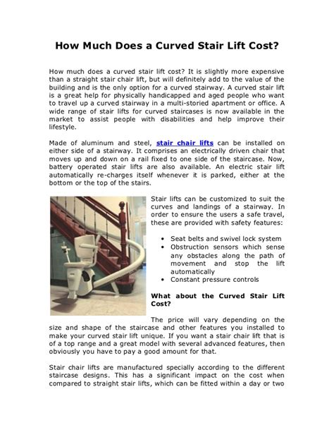 How Much Does It Cost To Lift A House by How Much Does A Curved Stair Lift Cost