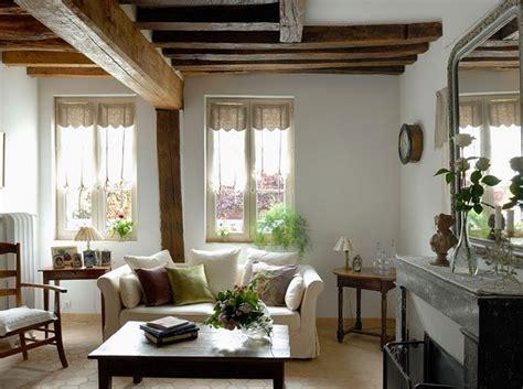 estilo rustico vigas de techo