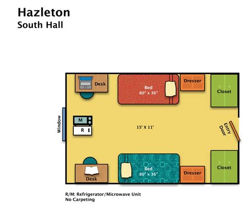 area of a floor plan residence halls hazleton housing food services