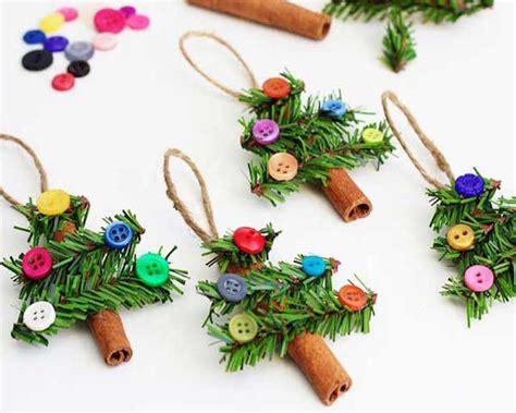 adornos para el arbol de navidad arboles de botones