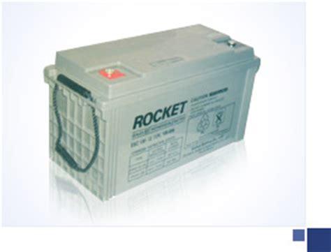 Global Esh 130 12 Vrla rocket valve regulated lead acid batteries es series