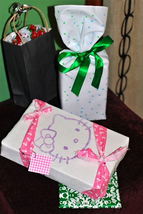 fabric gift wrapping wrapping gifts with fabric an array of patterns ideas