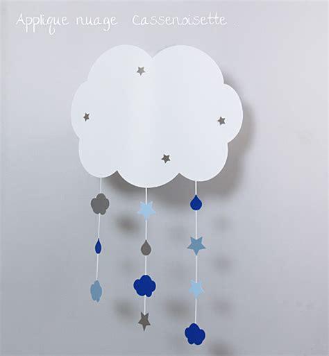 Bien Applique Murale Pour Chambre Bebe #1: applique-nuage-mobile-gris-bleu-z.jpg