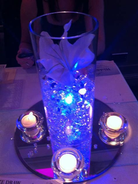 led lights for centerpieces pin by flashingblinkylights com on led wedding decor
