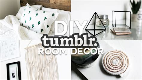 diy home decor tumblr diy tumblr inspired room decor minimal simple 2016