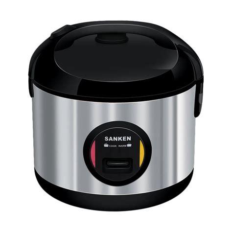 blibli rice cooker jual sanken sj 3030bk rice cooker hitam 1 8l online