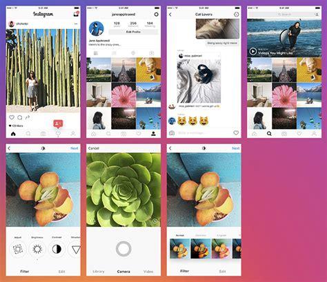 20 Best Free Instagram Mockup Templates 2018 Themelibs Instagram Mockup Template