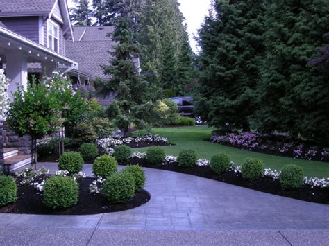 front yard landscaping make over 1 traditional landscape vancouver by fabulous flower beds