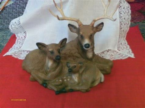 home interior deer picture home interior deer figurines ebay