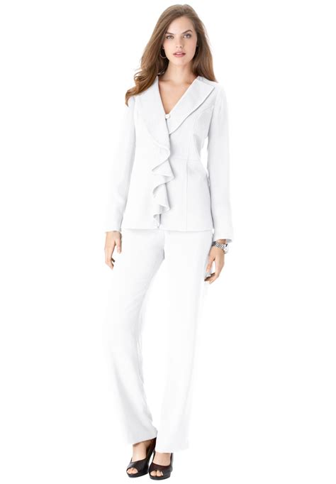 white pant suit 21 new white pantsuit for playzoa