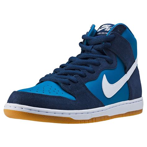 nike com nike sb zoom dunk high pro mens trainers in obsidian white
