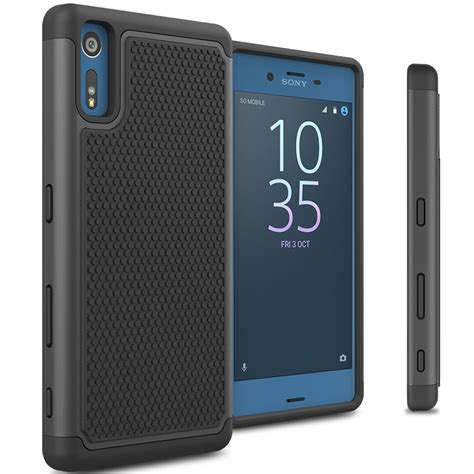 Xperia Z4 Fabitoo Soft Armor Silicone Bumper Casing Tpu Cover for sony xperia xz tough protective hybrid phone cover ebay