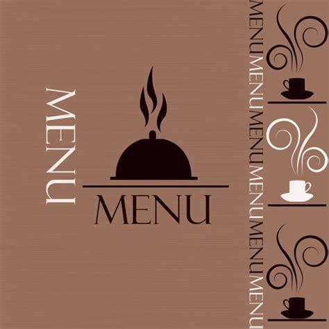 menu cover design vector creative restaurant menu cover design vector free vector