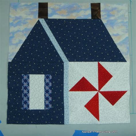 quilting applique tutorial applique n patch quilting school house tutorial on