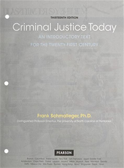 criminal justice today an introductory text for the 21st century 15th edition what s new in criminal justice books pdf epub criminal justice today an introductory