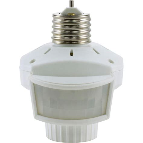 indoor motion detector lights westinghouse porcelain ceiling fan fixture socket 7707700