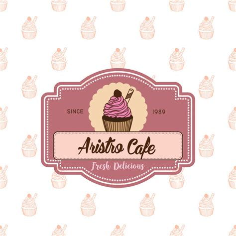 design label cake cake shop labels with background vector 02 vector