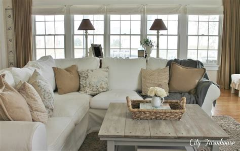 family room reveal thrifty pretty functional city farmhouse