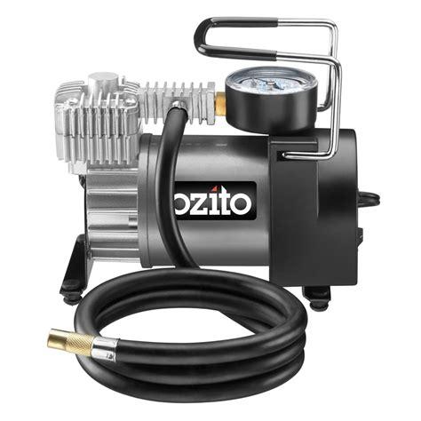 ozito 12v 150psi air compressor bunnings warehouse