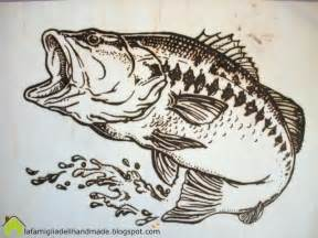 free wood burning templates woodburning fish pattern crafting practice wood