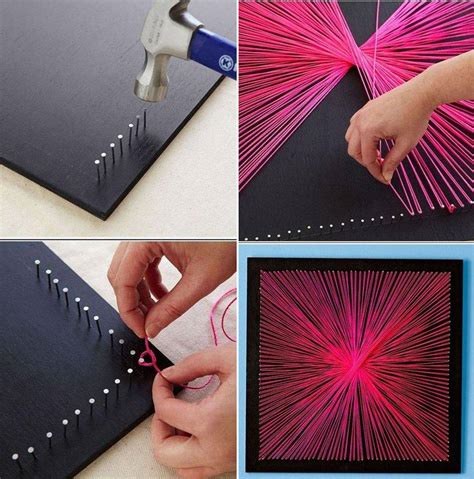 inexpensive diy wall decor ideas  crafts