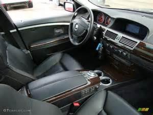 Interior Bmw Bmw 750 2014 Black