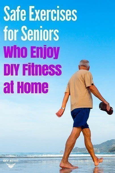 safe exercises for seniors who enjoy diy fitness at home