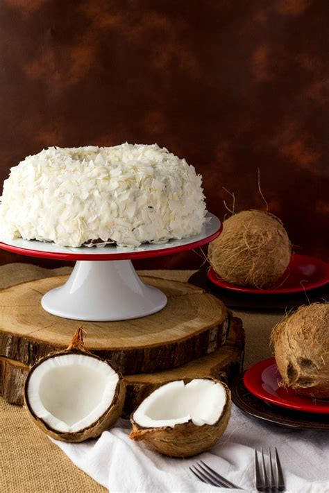 coconut cake made easy coconut cake recipe the bearfoot baker