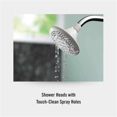 Delta Faucet Cleaning by Easy Clean Shower Faucet With Touch Clean 174 Spray